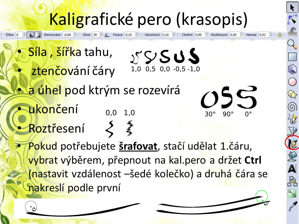 Kaligrafické pero (krasopis)