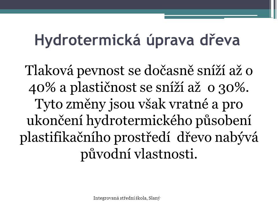 Hydrotermická úprava dřeva