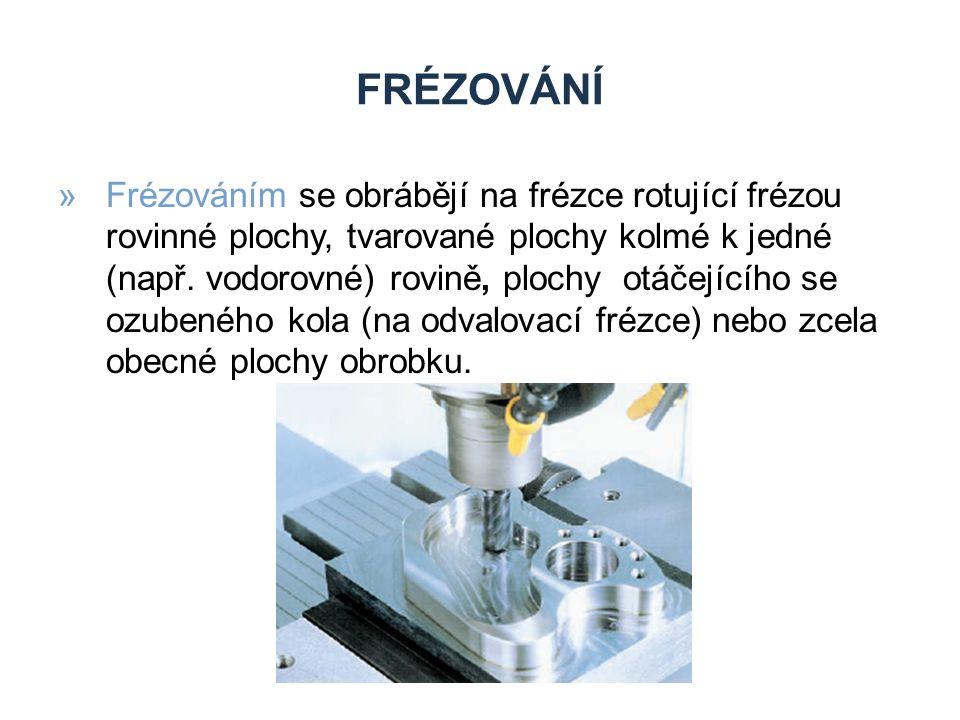 Zdroje Frézování.