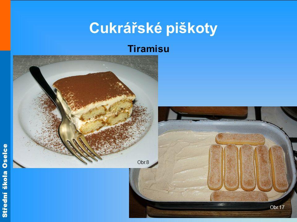Cukrářské piškoty Tiramisu Obr.8 Obr.17