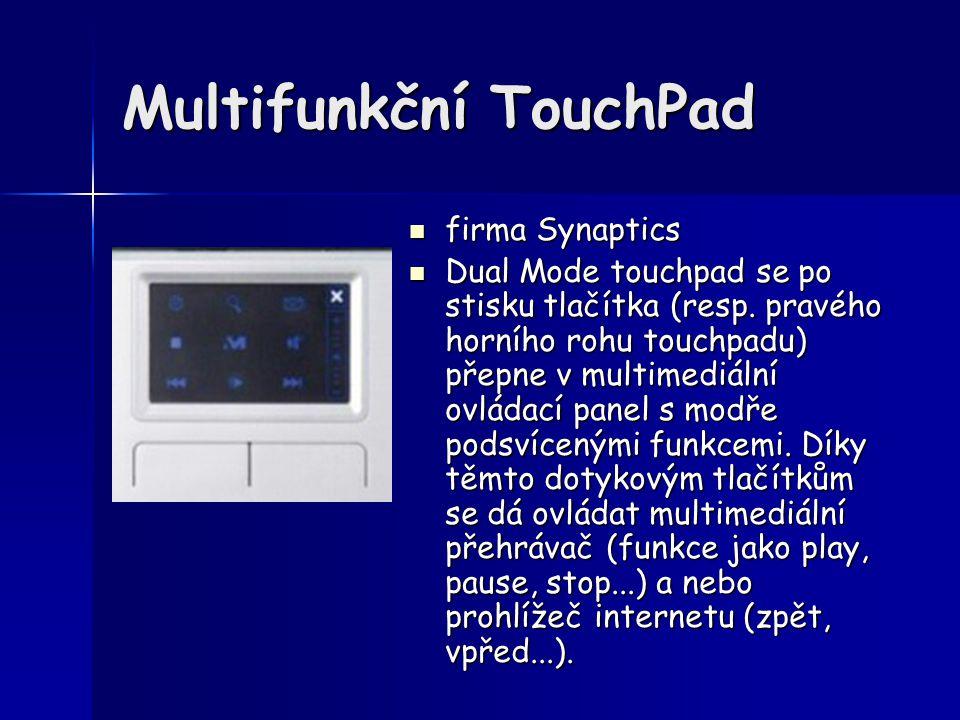Multifunkční TouchPad