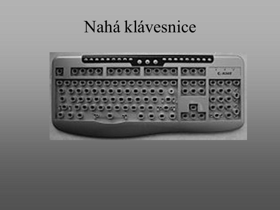 Nahá klávesnice