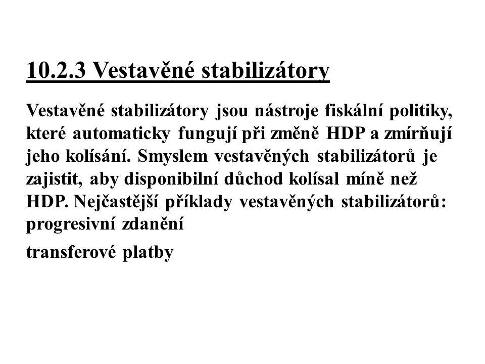 10.2.3 Vestavěné stabilizátory