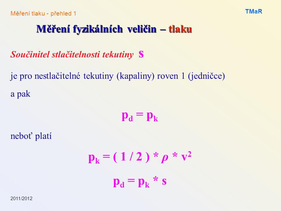 pd = pk pk = ( 1 / 2 ) * ρ * v2 pd = pk * s
