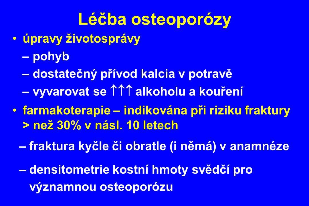 Léčba osteoporózy úpravy životosprávy – pohyb