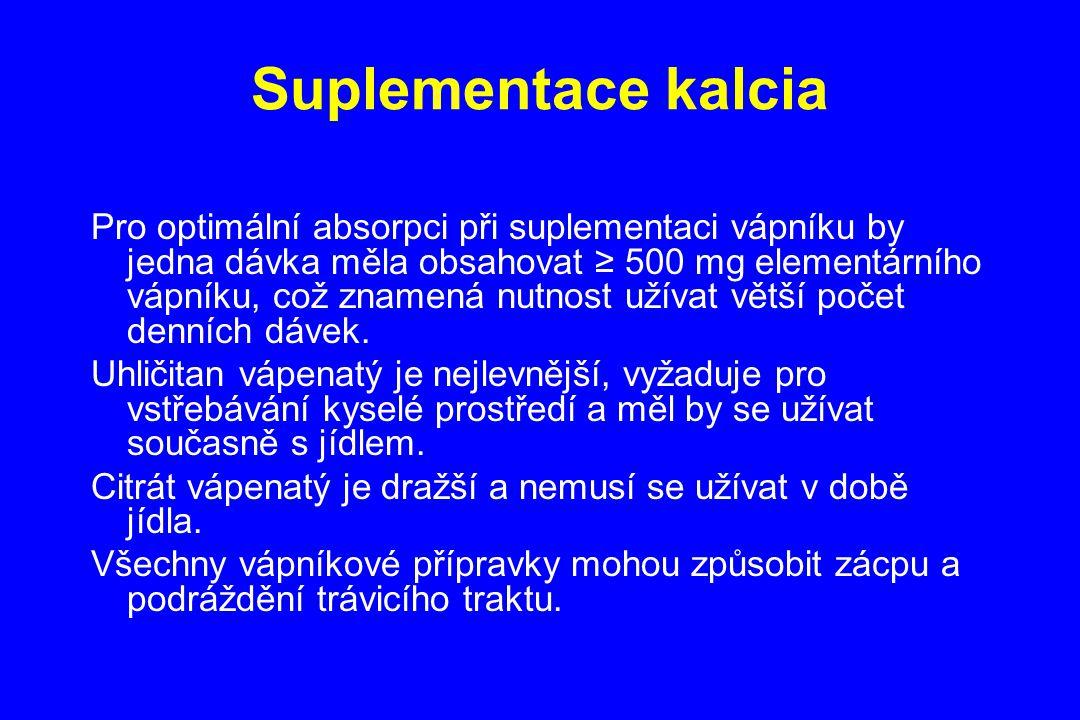 Suplementace kalcia