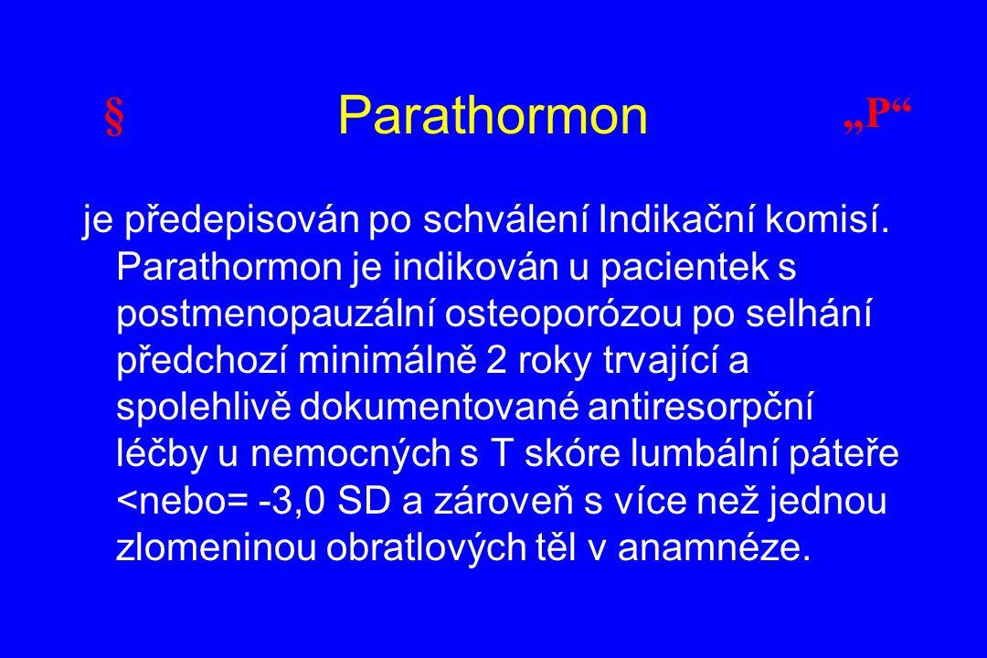 """Parathormon § """"P"""