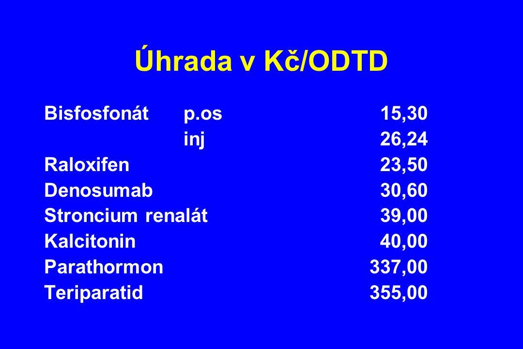 Úhrada v Kč/ODTD
