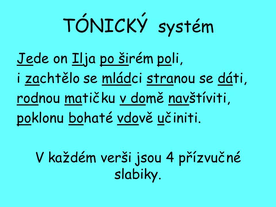 TÓNICKÝ systém