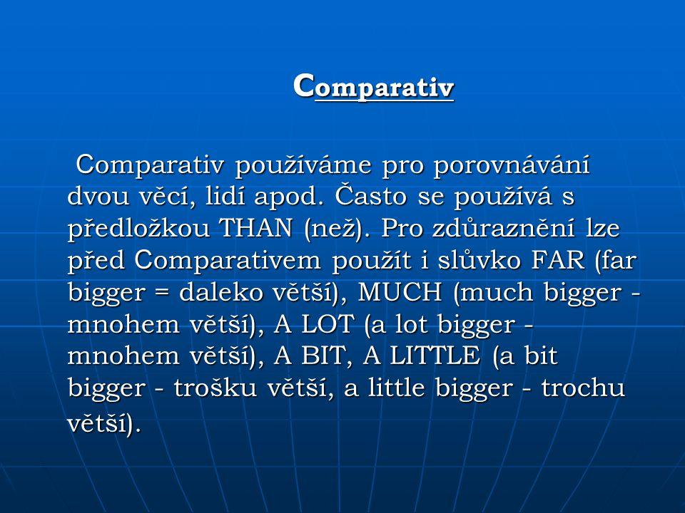 Comparativ
