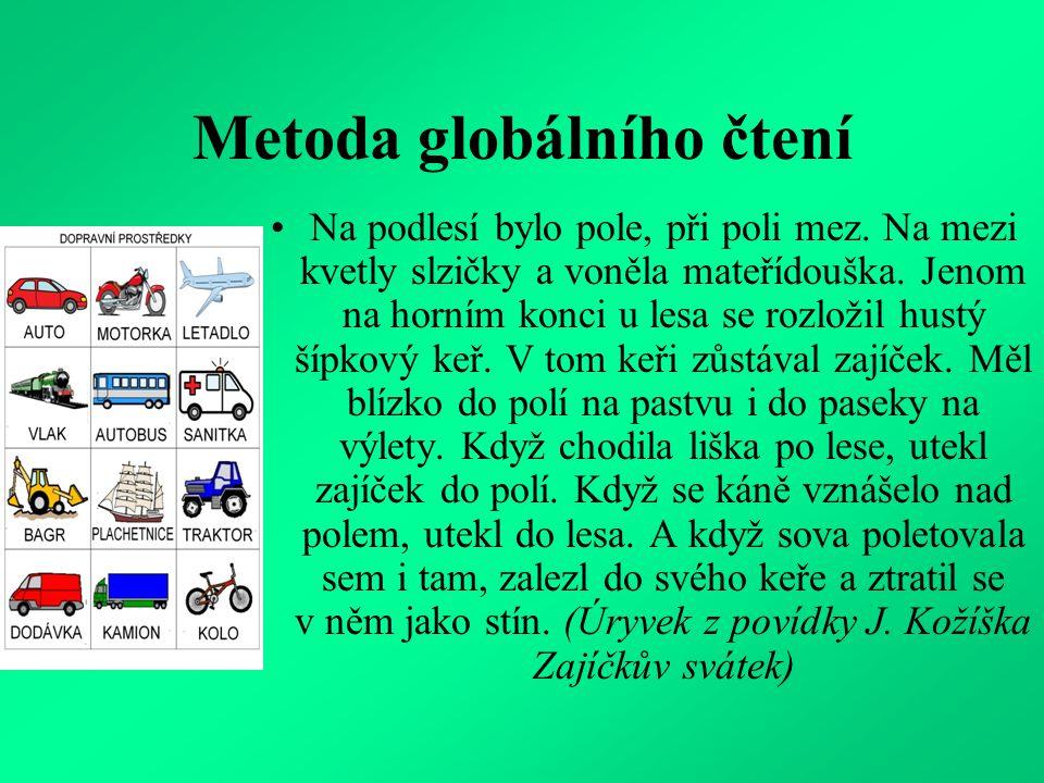 Metoda globálního čtení