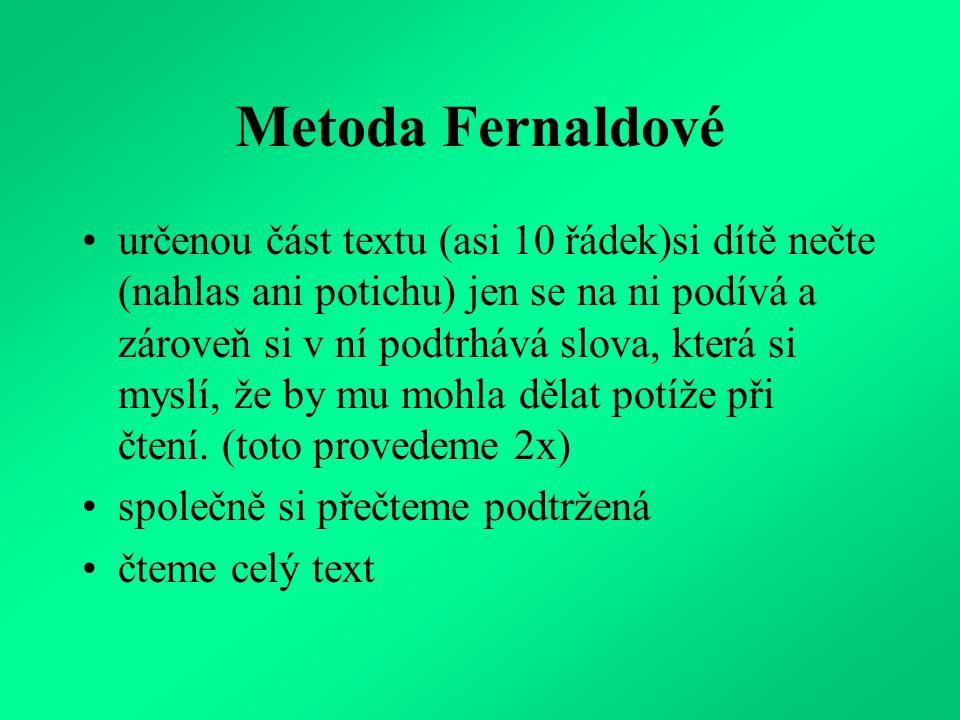 Metoda Fernaldové