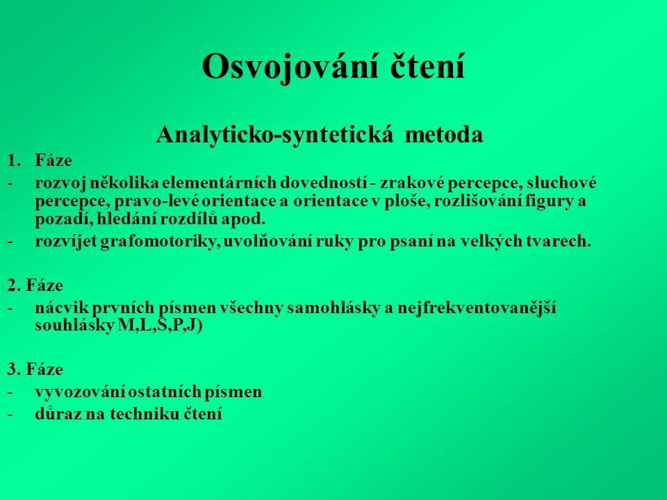 Analyticko-syntetická metoda