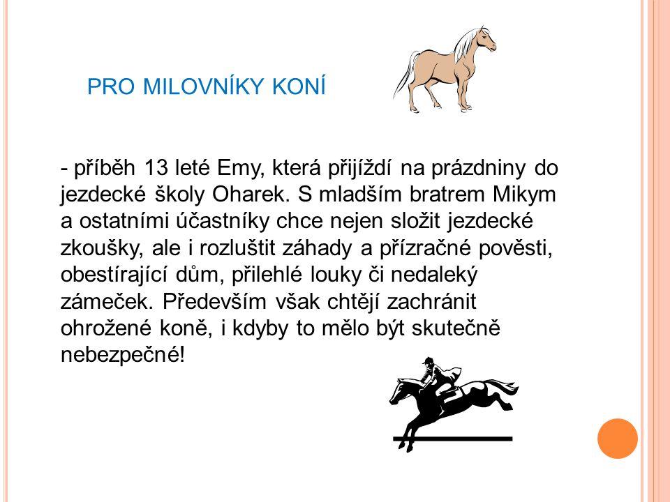 pro milovníky koní