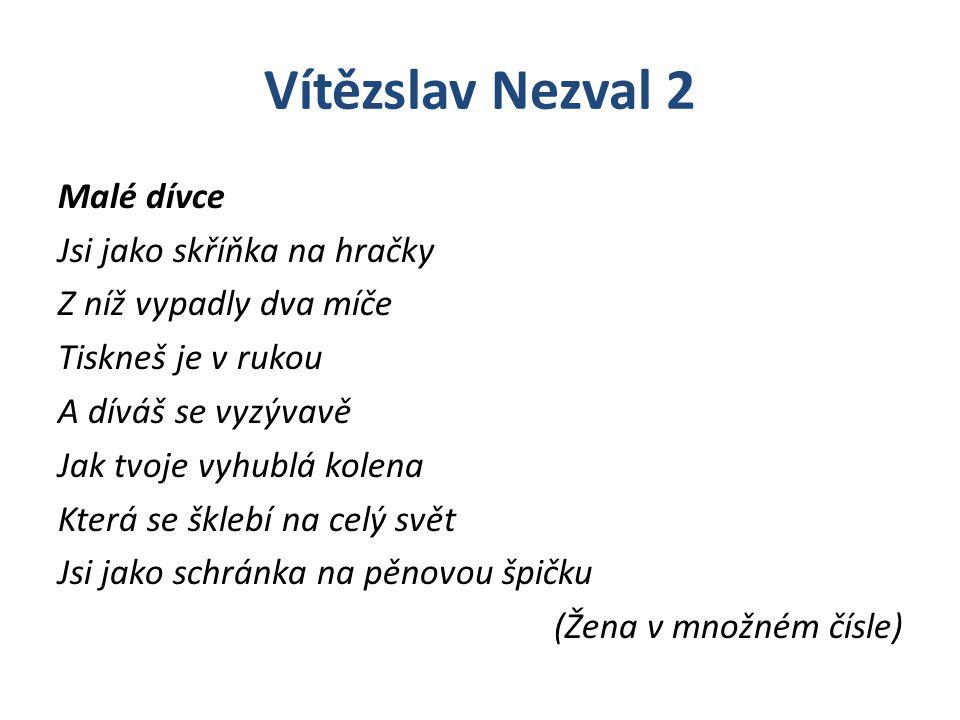 Vítězslav Nezval 2