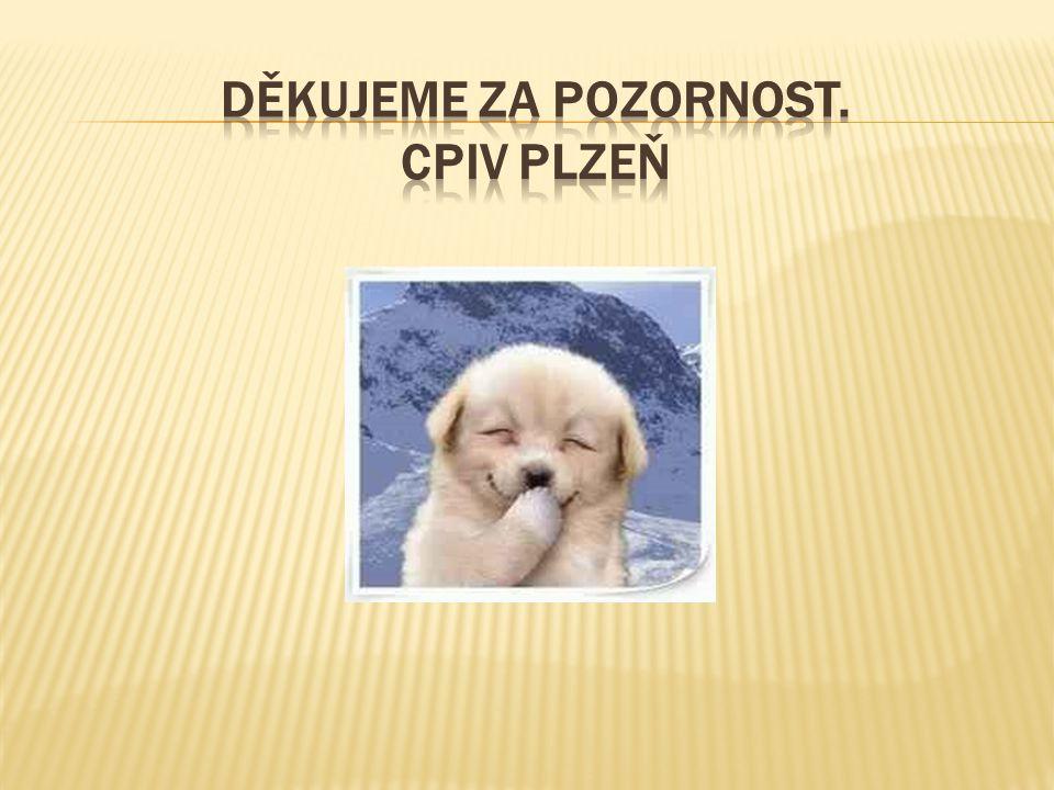Děkujeme za pozornost. CPIV Plzeň