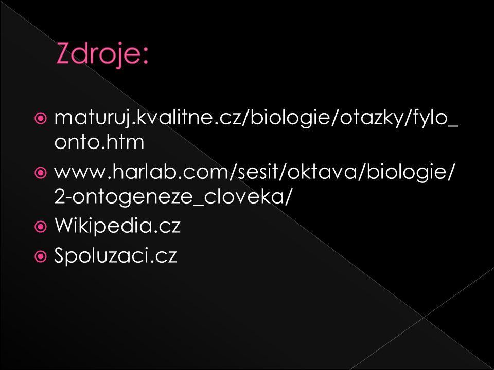 Zdroje: maturuj.kvalitne.cz/biologie/otazky/fylo_onto.htm