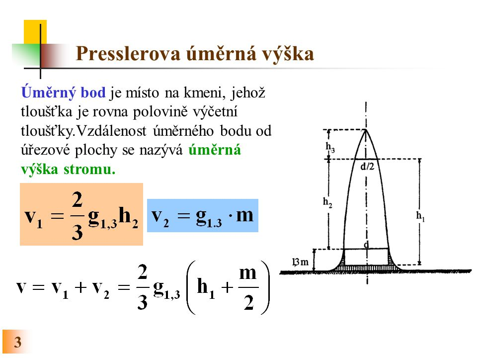 Presslerova úměrná výška