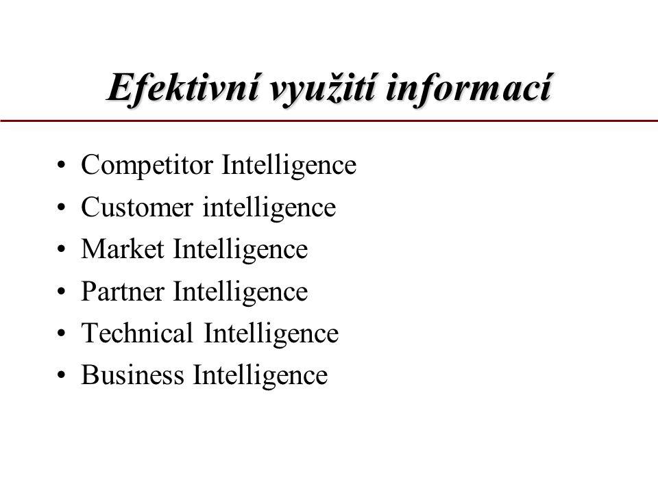 Efektivní využití informací