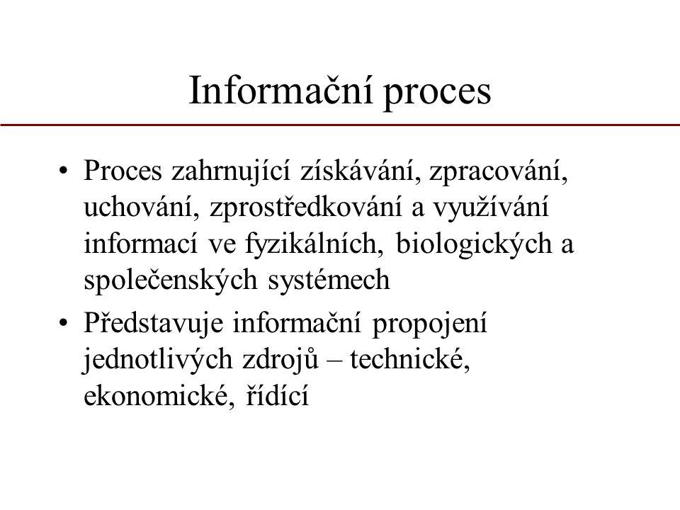 Informační proces