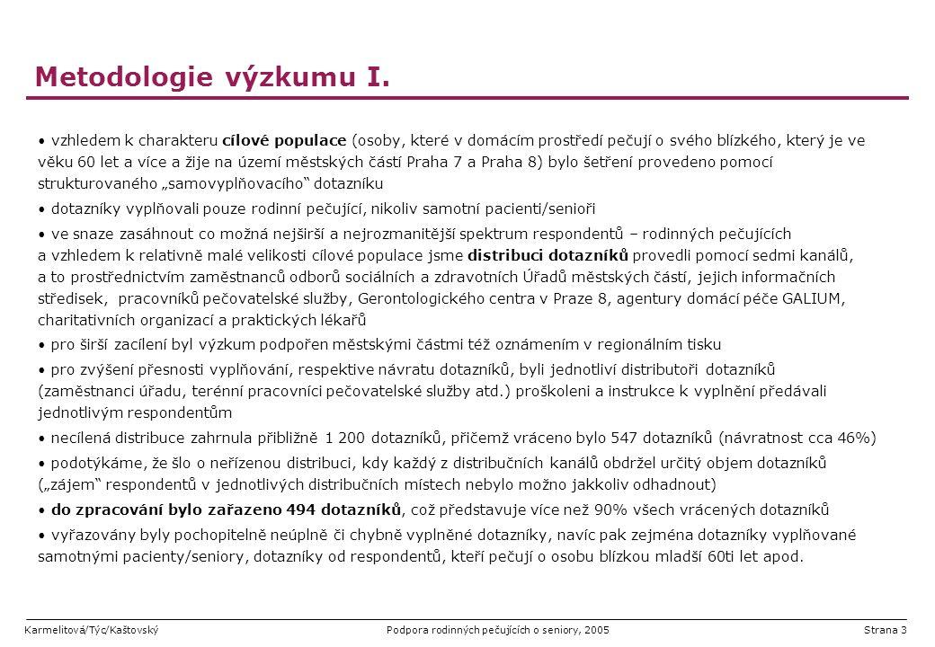 Metodologie výzkumu I.