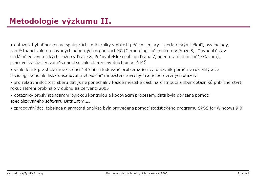 Metodologie výzkumu II.