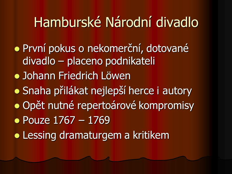 Hamburské Národní divadlo