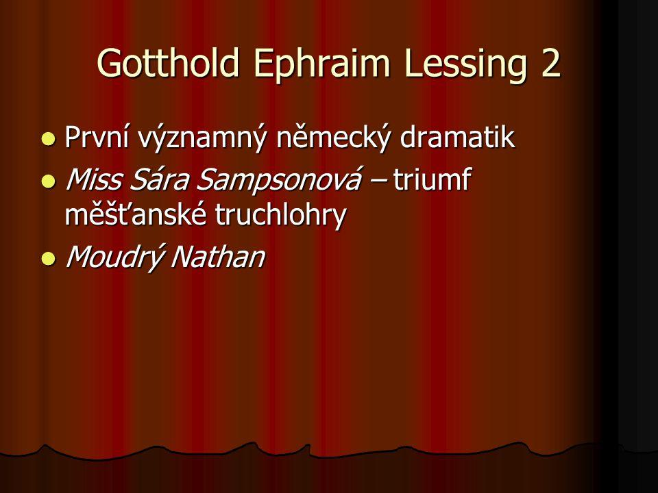 Gotthold Ephraim Lessing 2