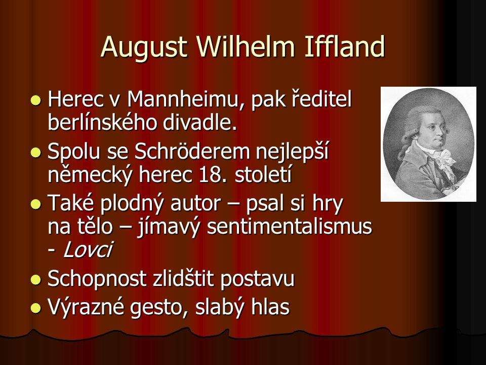 August Wilhelm Iffland
