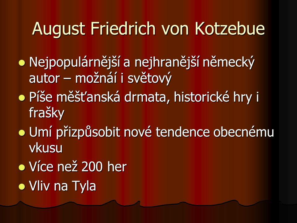 August Friedrich von Kotzebue