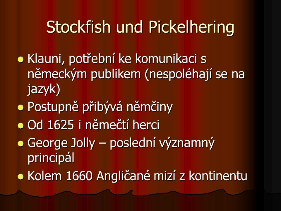 Stockfish und Pickelhering