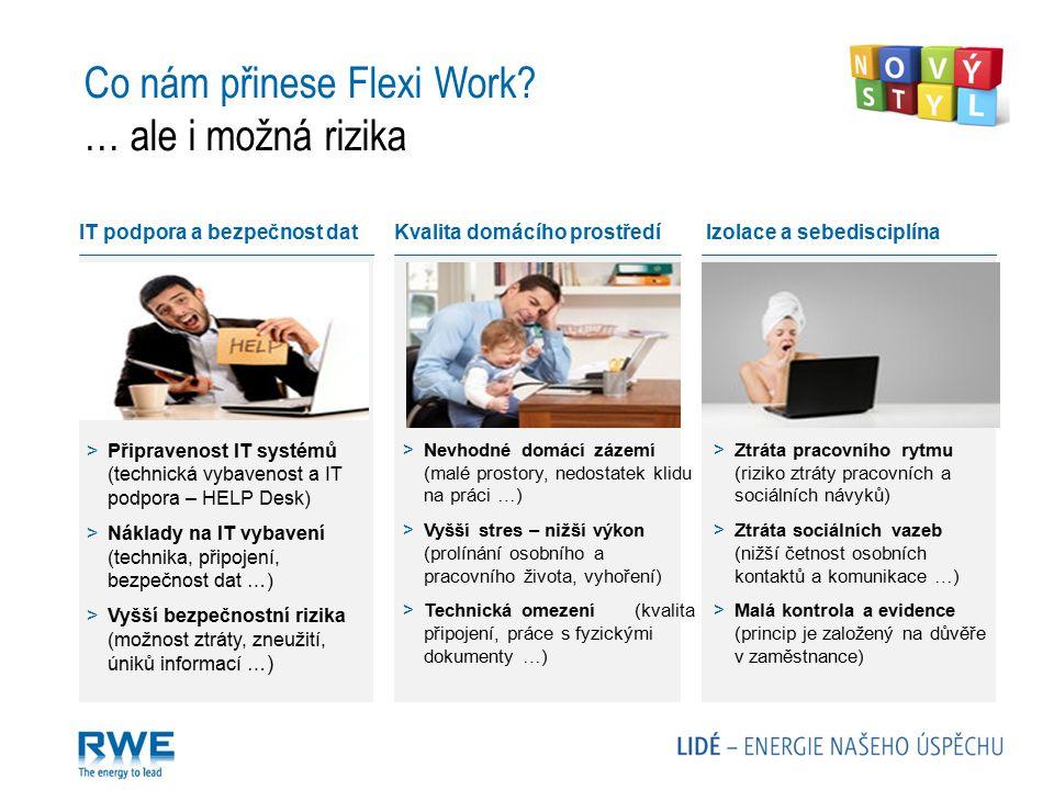 Co nám přinese Flexi Work … ale i možná rizika
