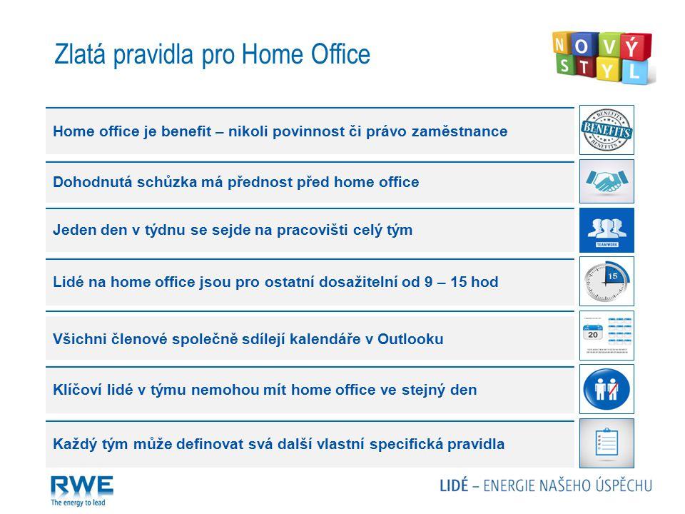 Zlatá pravidla pro Home Office
