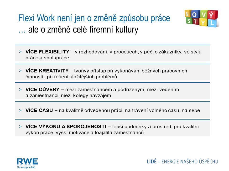 Flexi Work není jen o změně způsobu práce … ale o změně celé firemní kultury