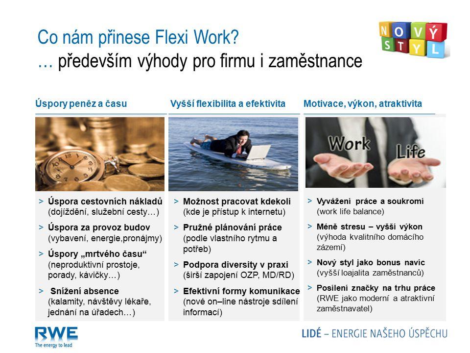 Co nám přinese Flexi Work … především výhody pro firmu i zaměstnance