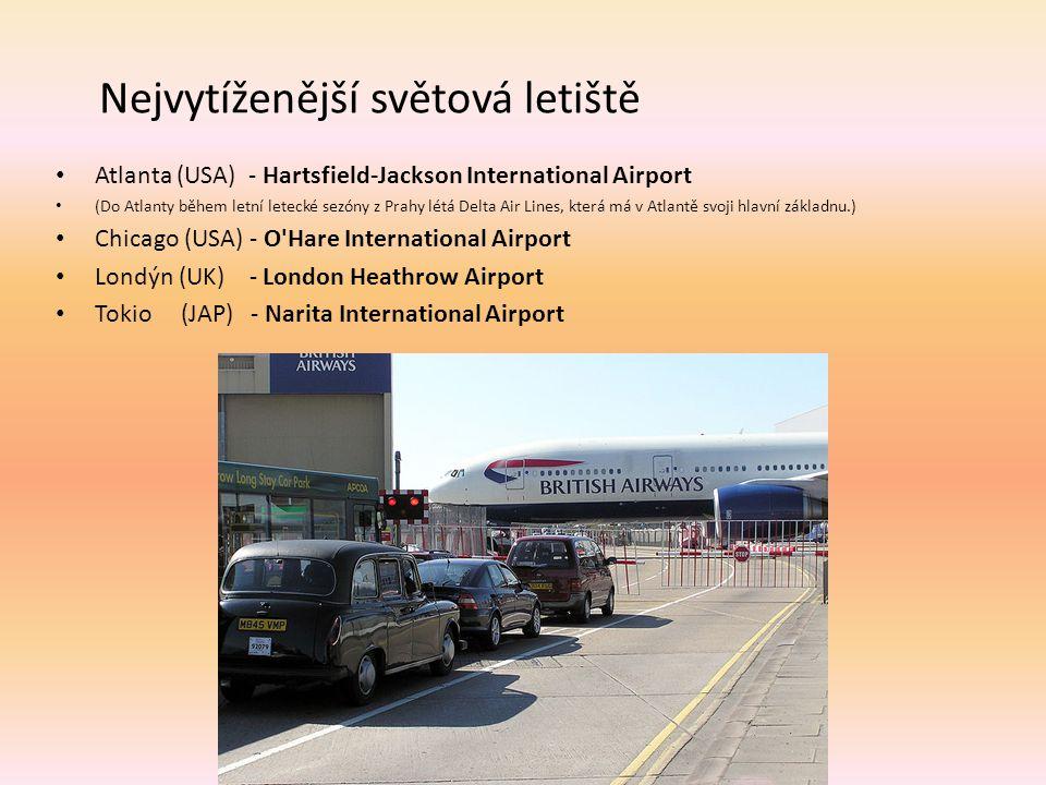 Nejvytíženější světová letiště