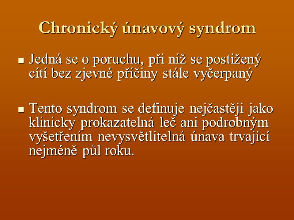Chronický únavový syndrom