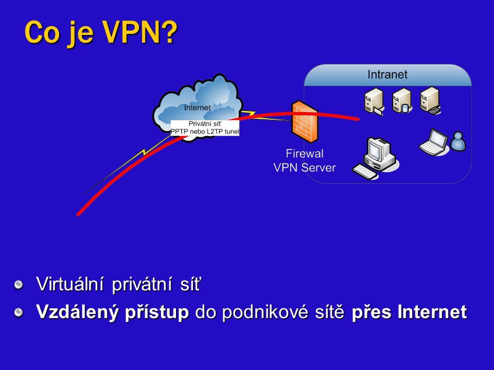 Co je VPN Virtuální privátní síť