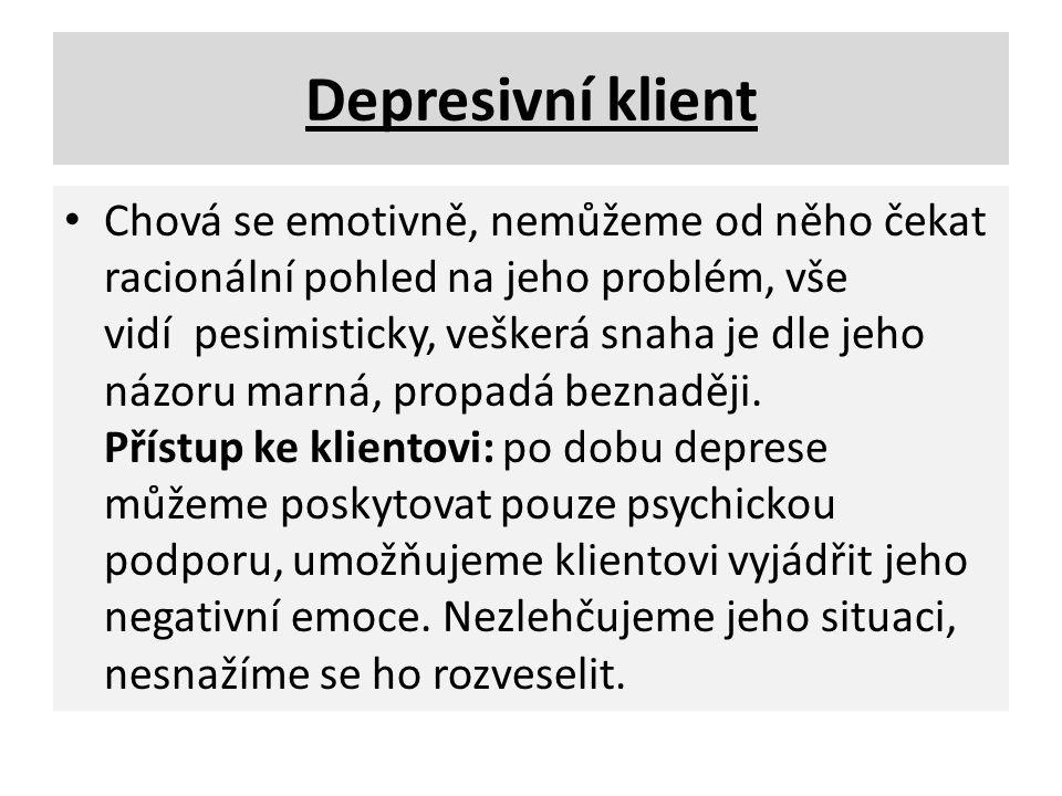 Depresivní klient
