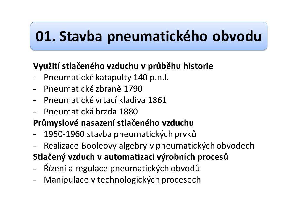 01. Stavba pneumatického obvodu