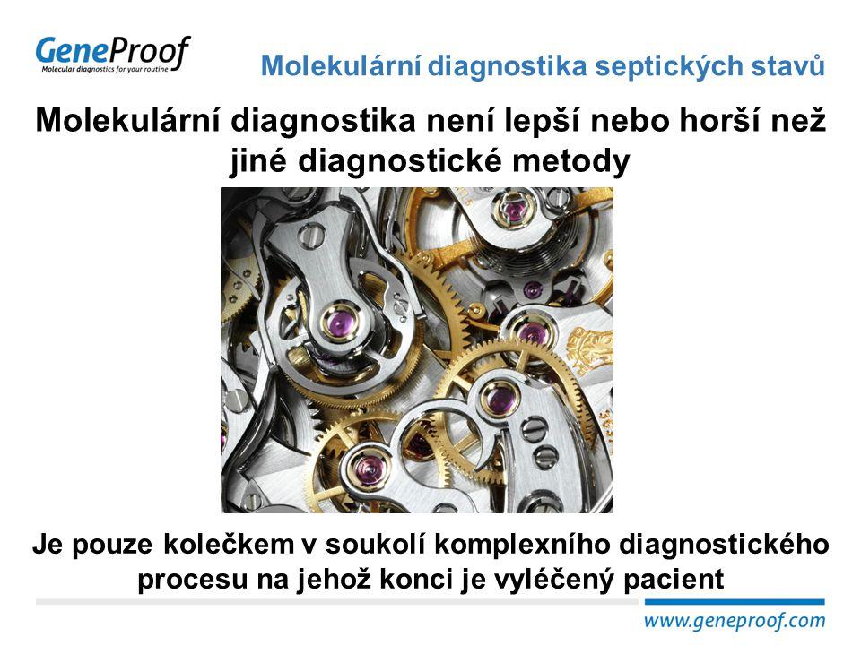 Molekulární diagnostika septických stavů