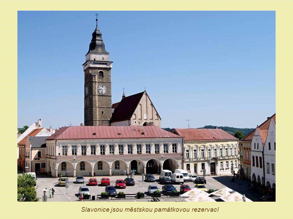 Slavonice jsou městskou památkovou rezervací