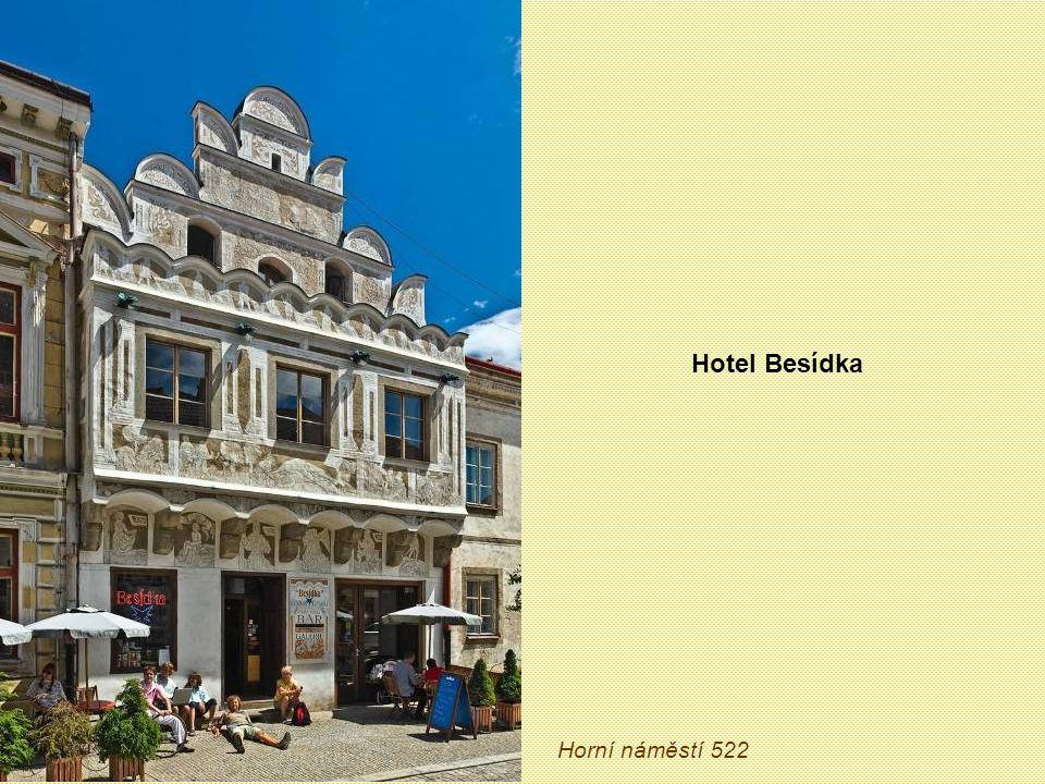 Hotel Besídka Horní náměstí 522