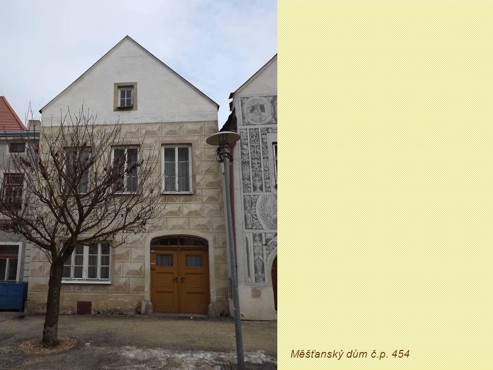 Měšťanský dům č.p. 454