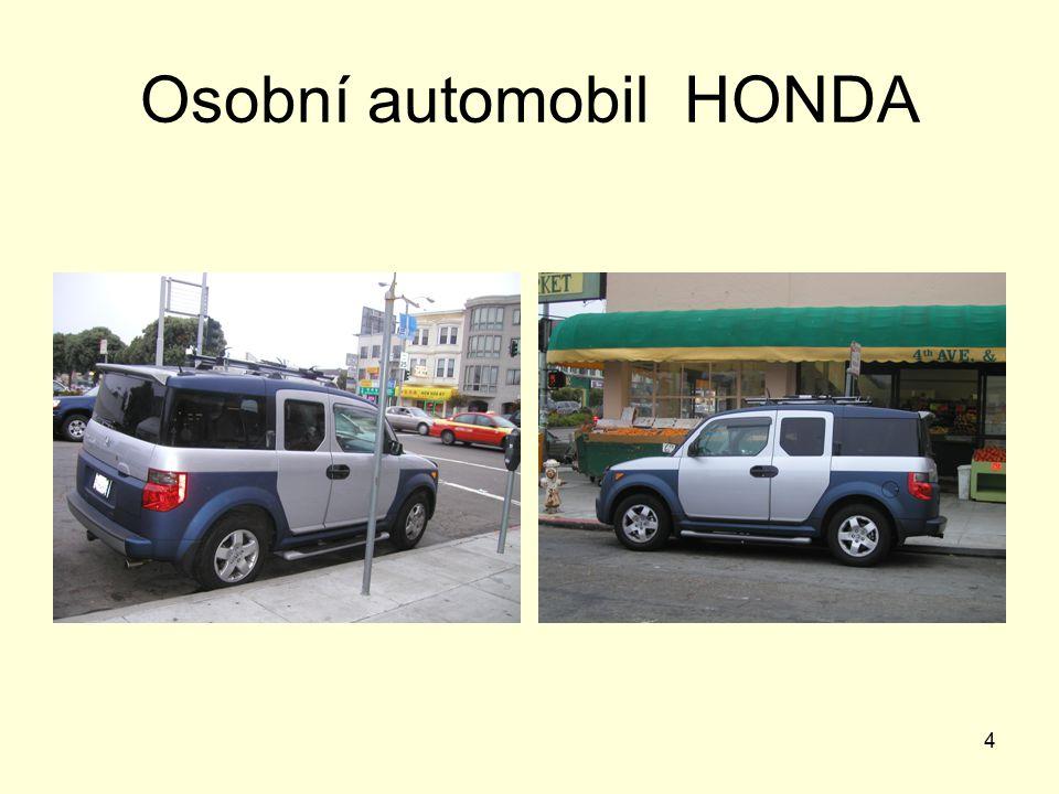 Osobní automobil HONDA