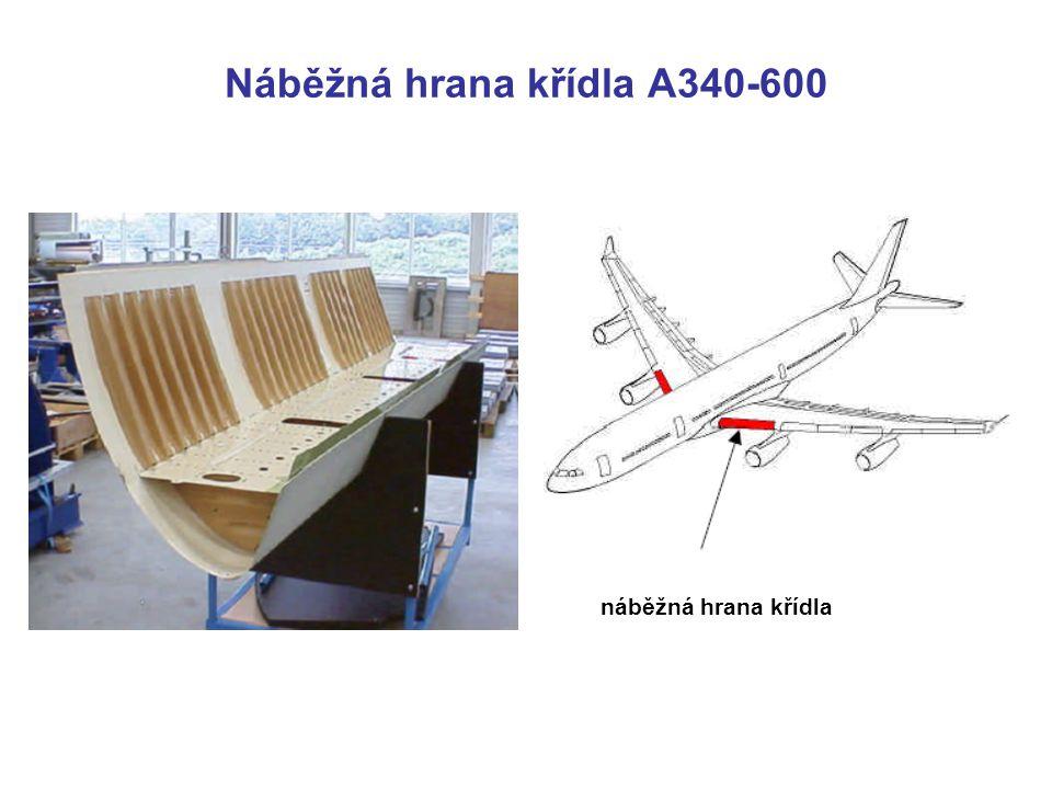 Náběžná hrana křídla A340-600