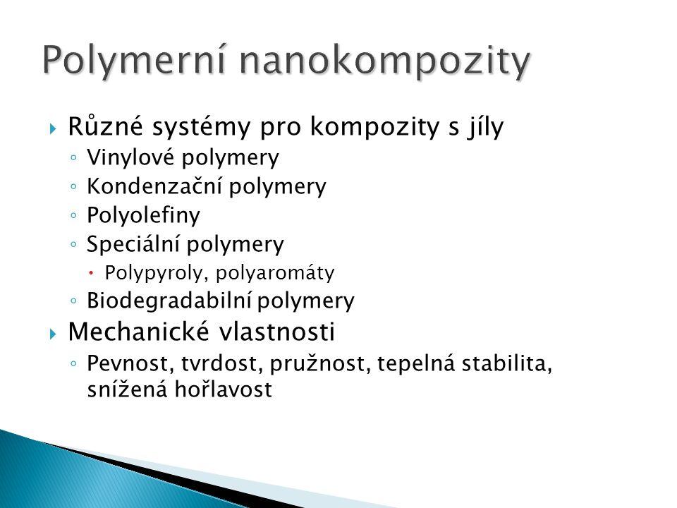 Polymerní nanokompozity
