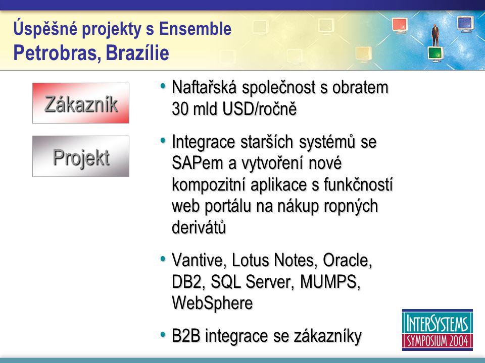 Úspěšné projekty s Ensemble Petrobras, Brazílie