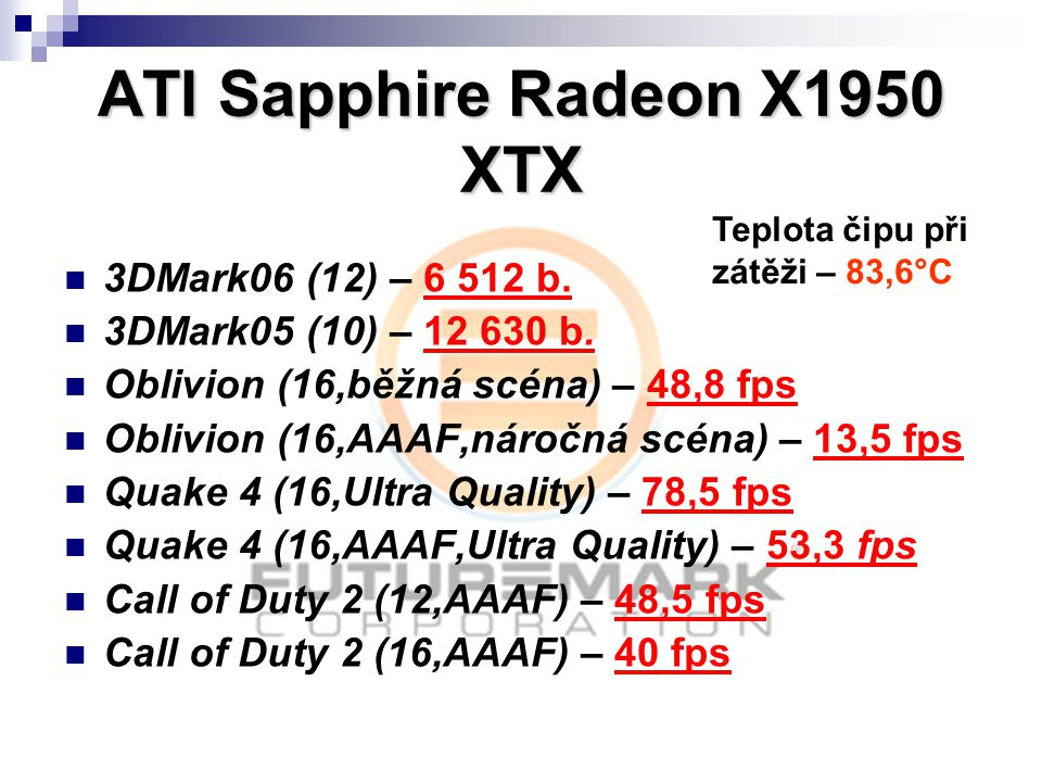 ATI Sapphire Radeon X1950 XTX