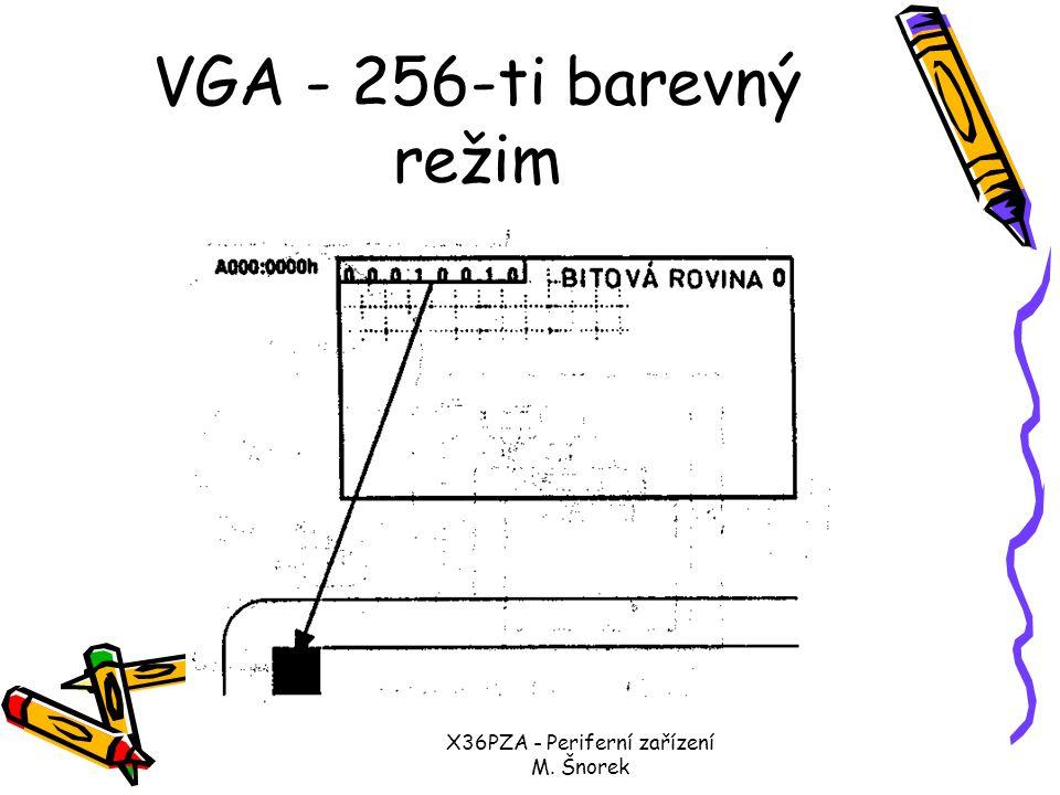 X36PZA - Periferní zařízení M. Šnorek